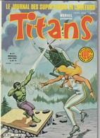 Rare Revue Titans Guerre Des étoiles Star Wars N° 41 - Titans
