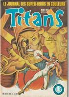 Rare Revue Titans Guerre Des étoiles Star Wars N° 44 - Titans