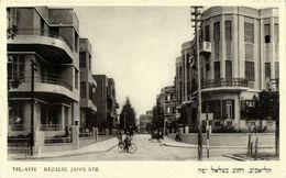 Israel Palestine, TEL-AVIV, Bezalel Jaffe Street (1930s) Postcard - Israel