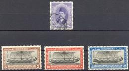 Egypte - Protectorat Britannique - 1923/1924 Et 1926 - Yt 92 (Obl) Yt 108/110 (* Charnière) - 1915-1921 Protectorat Britannique