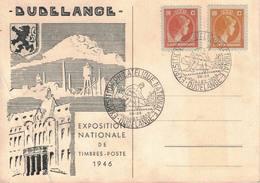 Luxembourg, 1 Carte, Dudelange 28-29/07/1946 - Marcofilie - EMA (Print Machine)