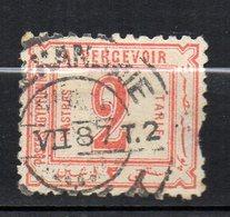 Egypte Taxe N° 2 Oblitéré Used Cote 35,00 Euros - Service