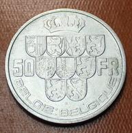 LEOPOLD III 50 FR  NEDERLANDS / FRANS  ZONDER KRUISJE OP KROON - MOOIE STAAT 3 SCANS - 1934-1945: Leopold III