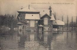 91 SOISY SOUS ETIOLLES  Inondations De Janvier 1910 - France
