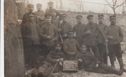 AK- Korporalschaft Dt. Soldaten In Vogesen (Ostfrankreich)Winter 1917 - Weltkrieg 1914-18