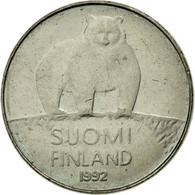 Monnaie, Finlande, 50 Penniä, 1992, TTB, Copper-nickel, KM:66 - Finlande