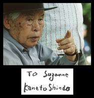 Kaneto Shindo (1912-2012) - Japanese Film Director - Rare Signed Autograph + Photo - Autographes