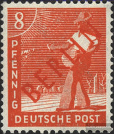 Berlin (West) 23 Unmounted Mint / Never Hinged 1949 Rotaufdruck - [5] Berlin
