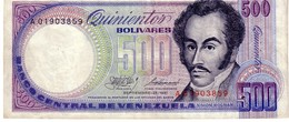 Venezuela P.67 500 Bolivares 1981 Xf - Venezuela