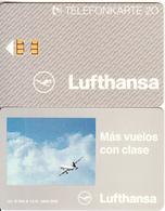 GERMANY - Lufthansa/Mas Vuelos Con Clase(K 604 A), Tirage 3000, 12/91, Used - Germania