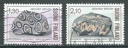 Finlande YT N°946-948 Géologie Oblitéré ° - Finnland