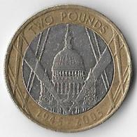 United Kingdom 2005 £2 End Of World War II Commemorative (D) [C171/1D] - 1971-… : Decimal Coins