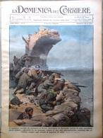 La Domenica Del Corriere 9 Gennaio 1938 Cordigliera Ande Inferno In Cina Record - Libri, Riviste, Fumetti