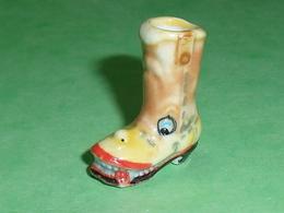 Fèves / Autres / Divers  : Chaussure , Botte Humoristique  T27 - Santons/Fèves