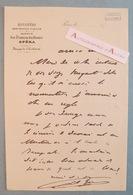 Charles GARNIER L.A.S Circa 1870 Célèbre Architecte Opéra De Paris - Cachet Collection Juncker Lettre Autographe LAS - Autographes