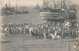 DAKAR - N° 122 - ARRIVEE DU DEPUTE INDIGENE COMME COMMISSAIRE DU GOUVERNEMENT - Sénégal