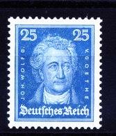 A5797) DR 25 Pfg. Goethe Mi.393 ** Unused MNH MiWert 38 Euro - Deutschland