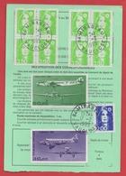 3,50 BRIAT Bloc De 4 X 2 + PA Sur ORDRE De REEXPEDITION - 1995 - - 1989-96 Bicentenial Marianne