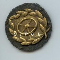 Insigne De Chauffeur D Automobile Guerre De 1939/45 Se Portait Sur Le Revers De La Veste - 1939-45
