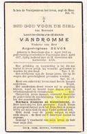 DP Im. Pieuse - Leonie Oct. VanDromme ° Boeschepe FR Nord 1852 † Poperinge BE 1937 X August I. Devos - Images Religieuses