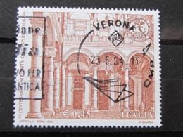 *ITALIA* USATI 2004 - 6° CENT UNIVERSITA' STUDI TORINO - SASSONE 2769 - LUSSO/FIOR DI STAMPA - 6. 1946-.. Repubblica