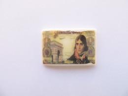 Fève  Clamecy Billet De Banque Français Napoleon Bonaparte 100 Frs - Fèves