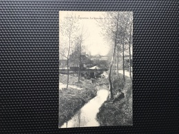 Genval / -L'Argentine-La Brasserie Et Le Moulin-1918-envoi Pendant L'occupation Allemande - Rixensart