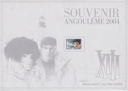 B01-061-1 3233  BD Angoulème Pochette Seule Vide Souvenir   Rare XIII De William Vance (1935) Et Jean Van Hamme Scénar - Souvenir Cards