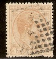 España  Edifil 191 (º)  5 Céntimos Naranja  Alfonso XII  1878  NL1406 - 1875-1882 Kingdom: Alphonse XII