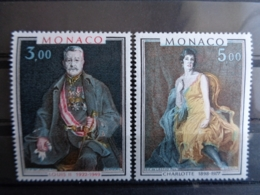MONACO 1981 Y&T N° 1286 & 1287 ** - PRINCE ET PRINCESSE DE MONACO - Monaco