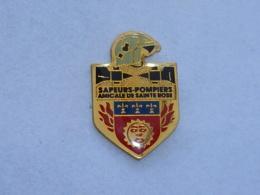 Pin's SAPEURS POMPIERS DE SAINTE ROSE - Pompiers