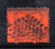 ASI175e - PONTIFICIO 1868 , 10 Cent Usato N. 26 . Punto Di Spillo - Stato Pontificio
