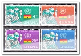 Ghana 1968, Postfris MNH, 20 Years World Health Organisation - Ghana (1957-...)