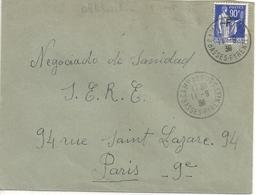 France Enveloppe Affranchie Camp De Gurs - France