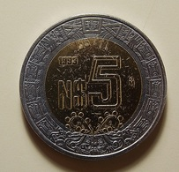Mexico 5 Pesos 1993 Varnished - Mexique