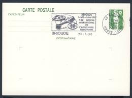 France Rep. Française 1990 Card / Karte / Carte- 14e Festival Int. L'audiovisuel Ferroviare, Brioude/ Eisenbahn - Treinen