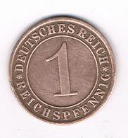 1 RENTENPFENNIG  1925 A DUITSLAND /0682/ - [ 3] 1918-1933 : Republique De Weimar
