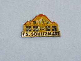 Pin's SAPEURS POMPIERS DE SOULTZMATT - Pompiers