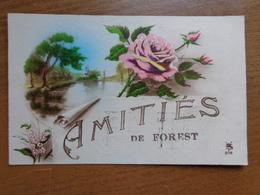 Amitiés De Forest -> écrit - Frasnes-lez-Anvaing