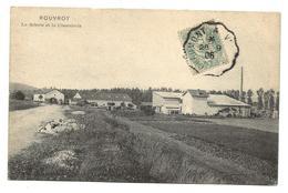 Haute Marne ROUVROY La Scierie Et La Cimenterie 1906  ...G - France