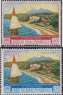 San Marino 665-666 (complete Issue) Unmounted Mint / Never Hinged 1960 Stamp Exhibition - San Marino