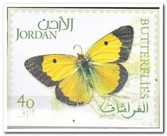 Jordanië 2007, Postfris MNH, Butterflies - Jordanië
