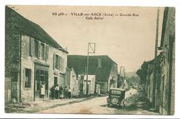Aube VILLE SUR ARCE Grande Rue Café Bellot Belle Animation Tacot  ...G - Frankreich
