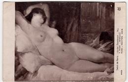 SALON DE PARIS - JULIEN TAVERNIER - A NUDE - DESNUDO - NUDO - NACKTES WEIB - Vedi Retro - Formato Piccolo - Peintures & Tableaux
