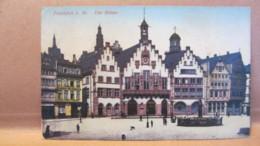 """AK Ansichtskarte """"Der Römer"""" Frankfurt A.M. Vom 25.6.13 Nach (Bad) Schandau A. Elbe - Frankfurt A. Main"""