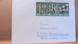 """DDR: Brief Mit 10/20/25 Pf """" Briefmarkenausstellung Der DDR 1974  In Karl-Marx-Stadt""""  Knr: WZd 305 - DDR"""
