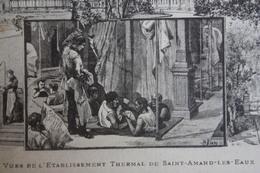 SAINT-AMAND-LES-EAUX - L'Etablissement Thermal - Playing Cards - Saint Amand Les Eaux
