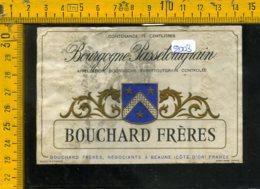 Etichetta Vino Liquore Bourgogne Passetoutgrain Francia - Etichette