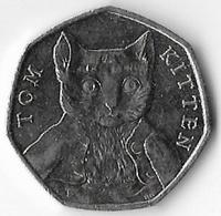 United Kingdom 2017 50p Tom Kitten (A) [C183/1D] - 1971-… : Decimal Coins