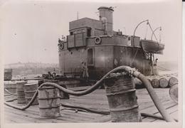 KRIM HAFEN  TANKER  FOTO DE PRESSE WW2 WWII WORLD WAR 2 WELTKRIEG Aleman Deutchland - Barcos